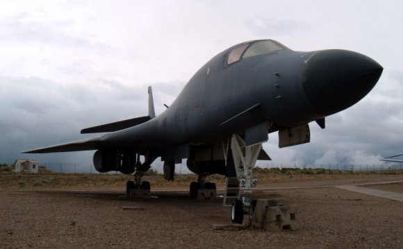 B-1B at Hill AFB Museum