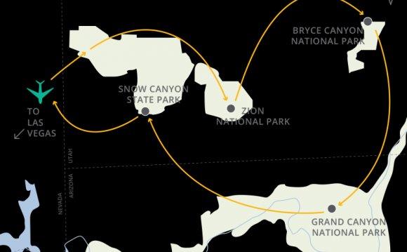 Map_zion_bryce_grand_canyon