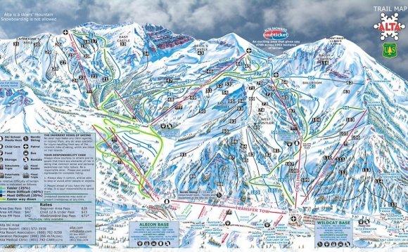 Alta Trail Map