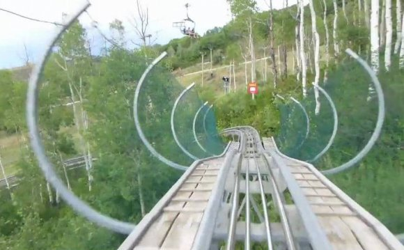 Park City Utah Alpine Coaster