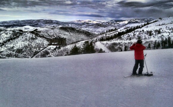 Canyons ski Resort Park City Utah