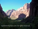Zion National Park for kids