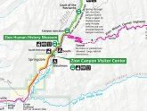 Zion National Park hiking trails map
