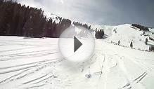 0 Canyons Ski Resort snowboarding in park city Utah