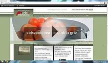Accessing the New Online Grants System - Utah Arts & Museums