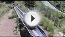 Alpine Slide POV at Olympic Park in Park City Utah 2014