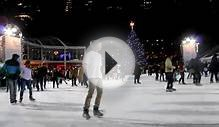 Bryant Park Ice Skating New York City