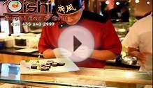 Park City Utah Restaurants - Oishi Sushi on Main Street