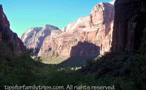 Zion National Park April weather